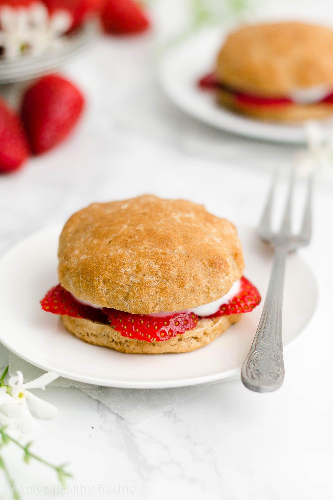 Best Easy Healthy Low Sugar Gluten Free Vegan Strawberry Shortcakes No Eggs