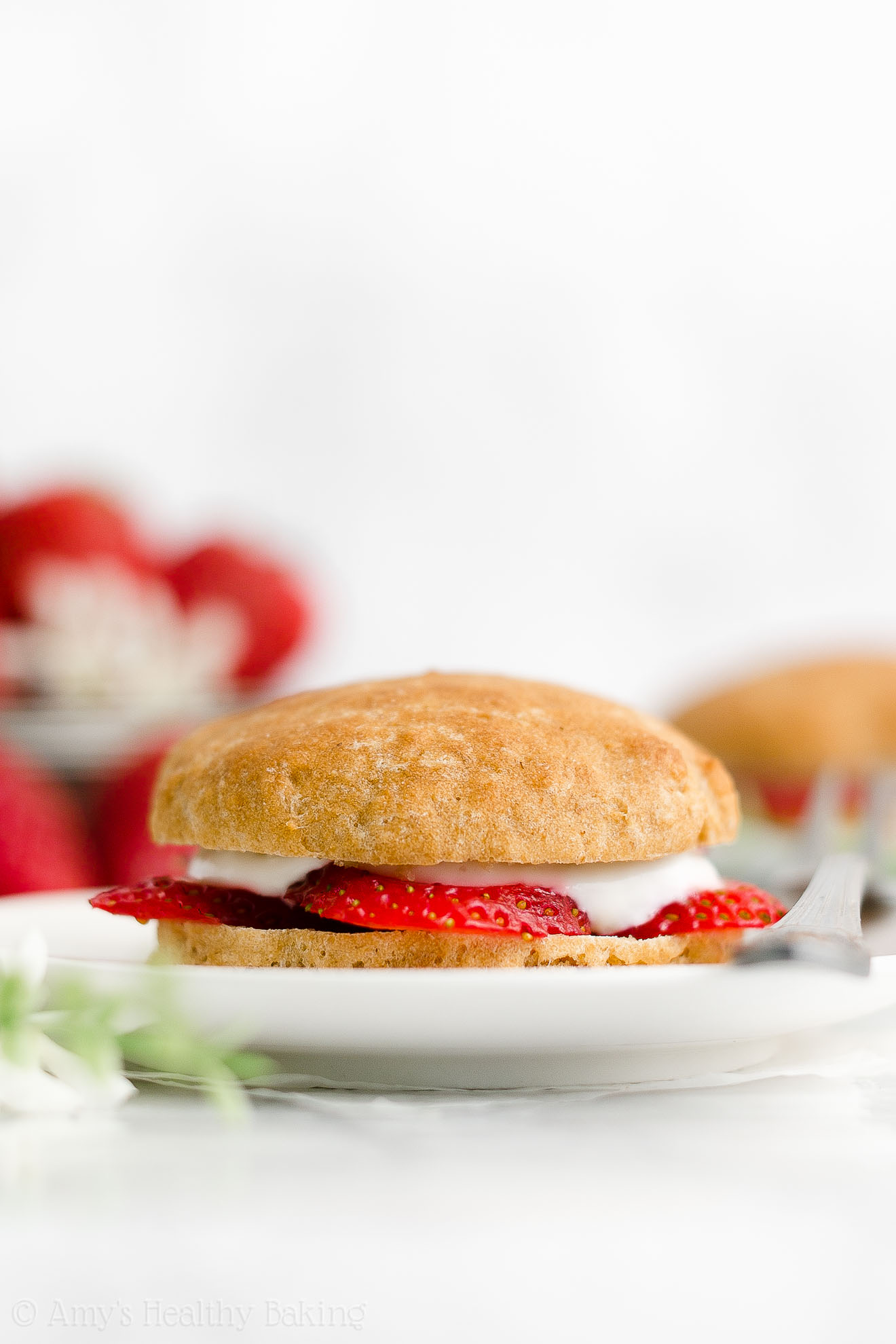 Best Easy Healthy Homemade Gluten Free Vegan Classic Strawberry Shortcakes
