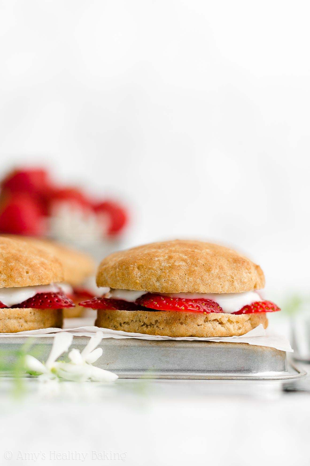 Best Easy Healthy Sugar Free Weight Watchers Classic Strawberry Shortcakes