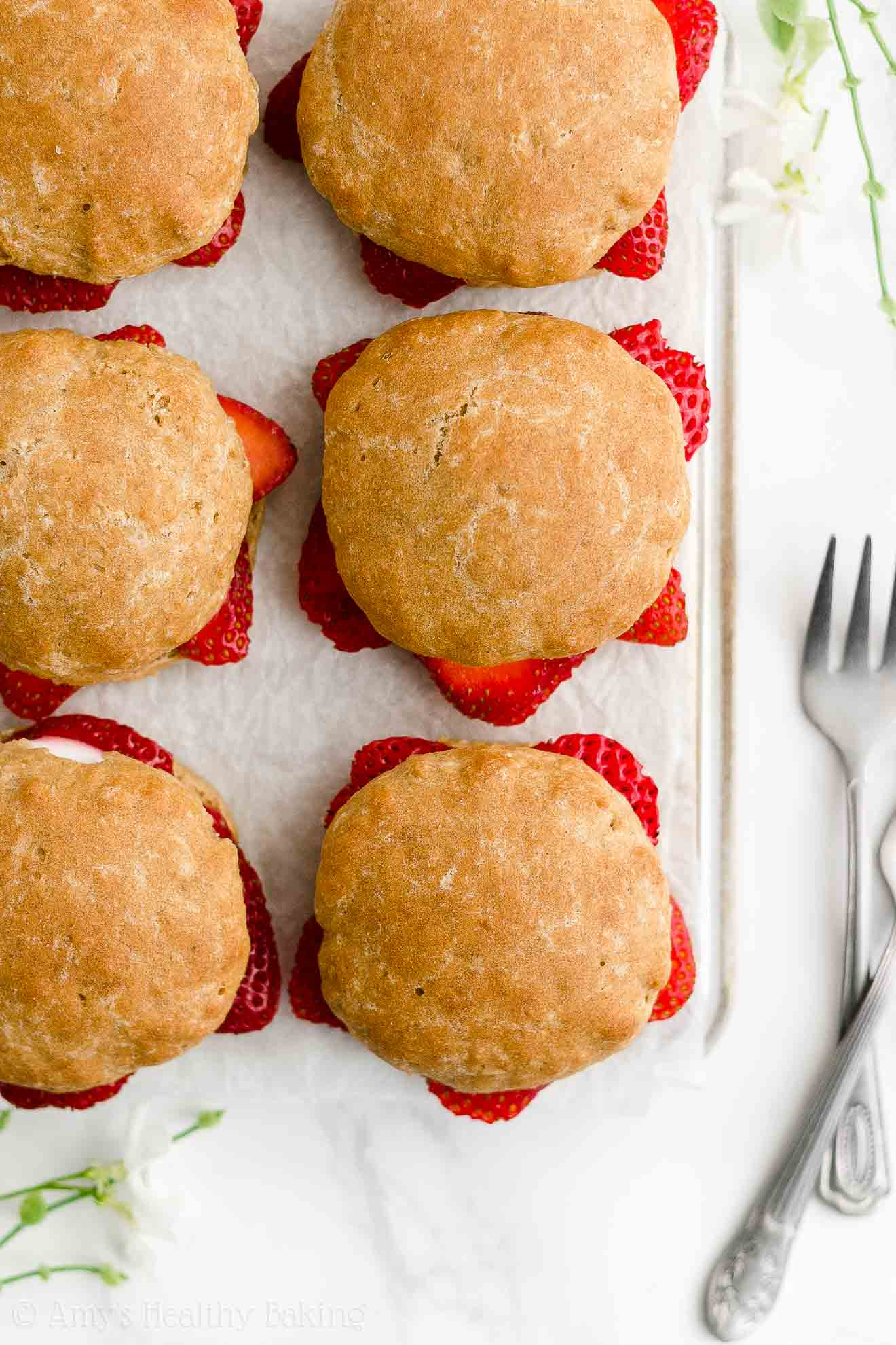 Best Easy Healthy Low Calorie Weight Watchers Classic Strawberry Shortcakes