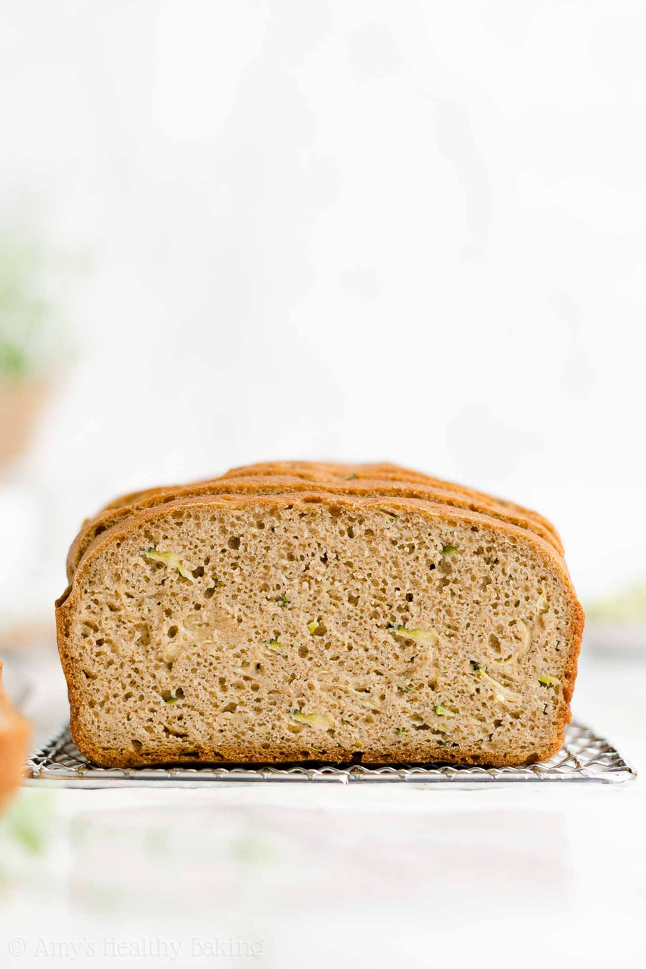 ULTIMATE Best Easy Healthy Sugar Free Low Calorie Greek Yogurt Zucchini Bread