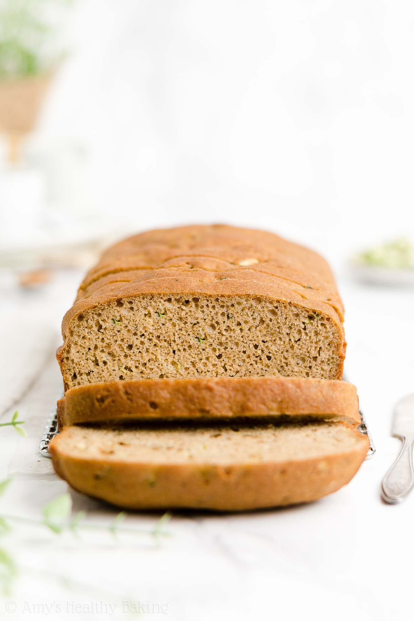 ULTIMATE Best Ever Easy Healthy Moist Whole Wheat Sugar Free Zucchini Bread
