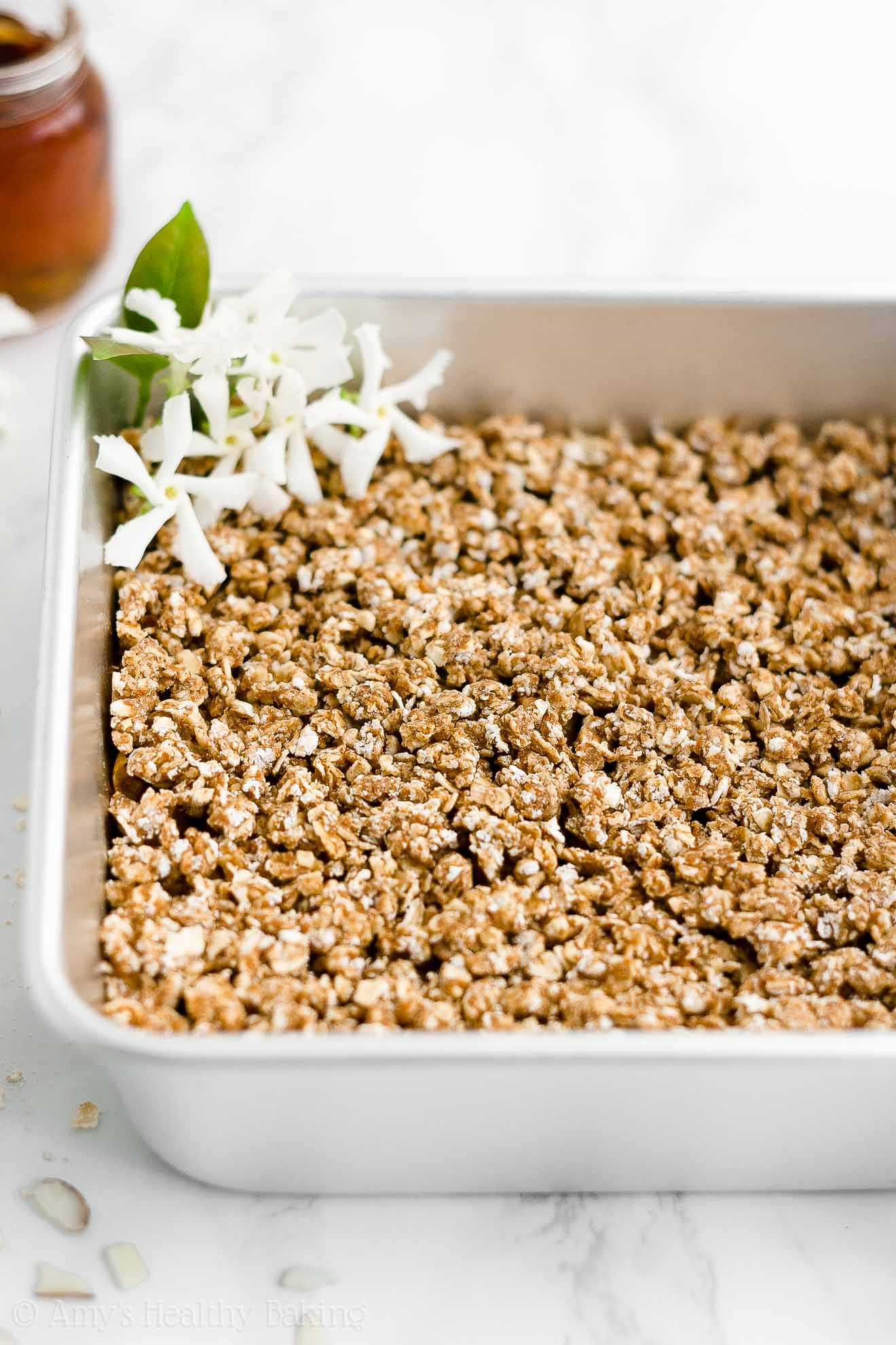 Best Easy Healthy Low Calorie Weight Watchers No Butter Eggless Apple Crisp