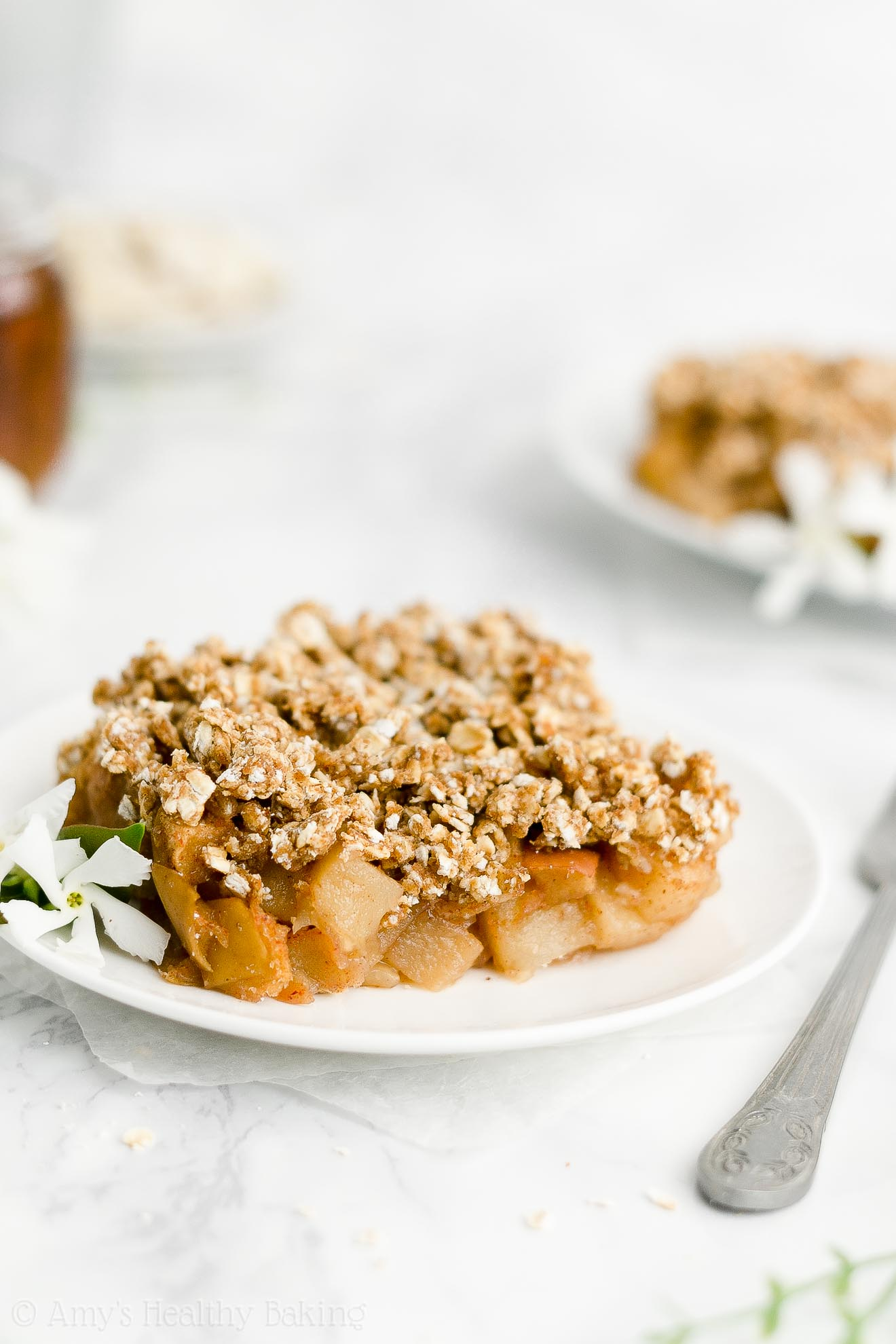 ULTIMATE Best Ever Easy Healthy Whole Wheat Low Sugar Baked Apple Crisp