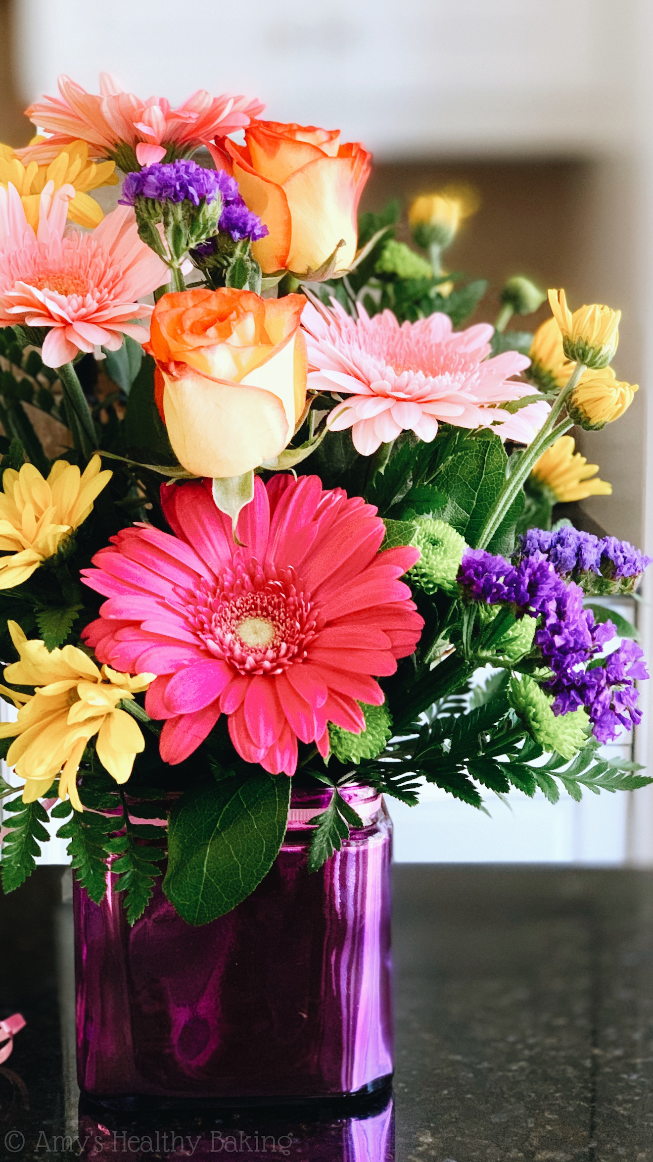birthday flower bouquet, how to change someone's life & reflections on turning 30