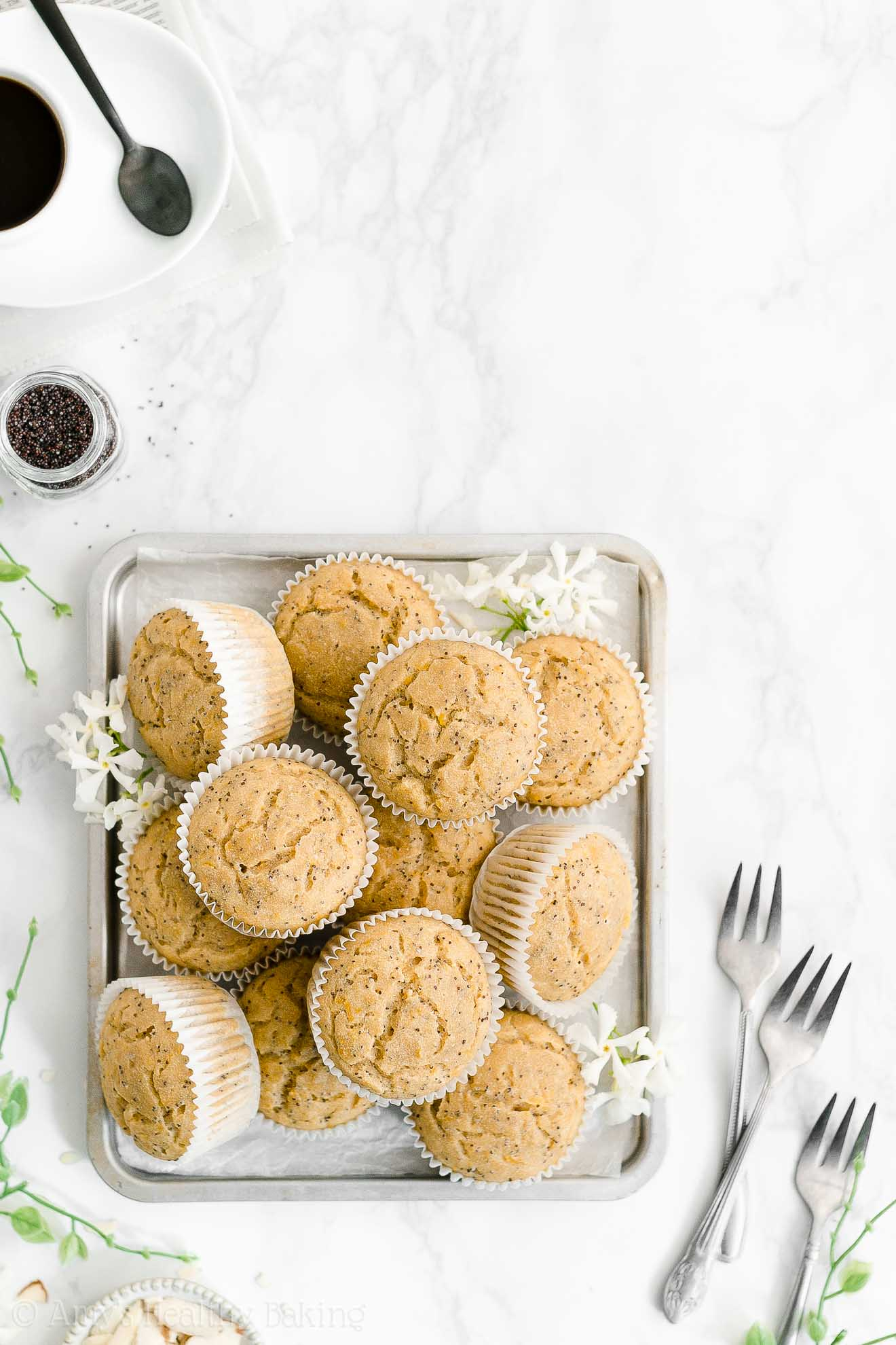 Best Easy Healthy Weight Watchers Sugar Free Yogurt Lemon Poppy Seed Muffins