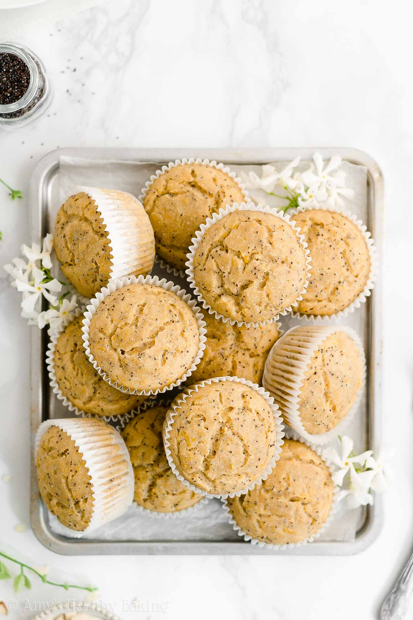 ULTIMATE Best Ever Easy Healthy Gluten Free Vegan Lemon Poppy Seed Muffins