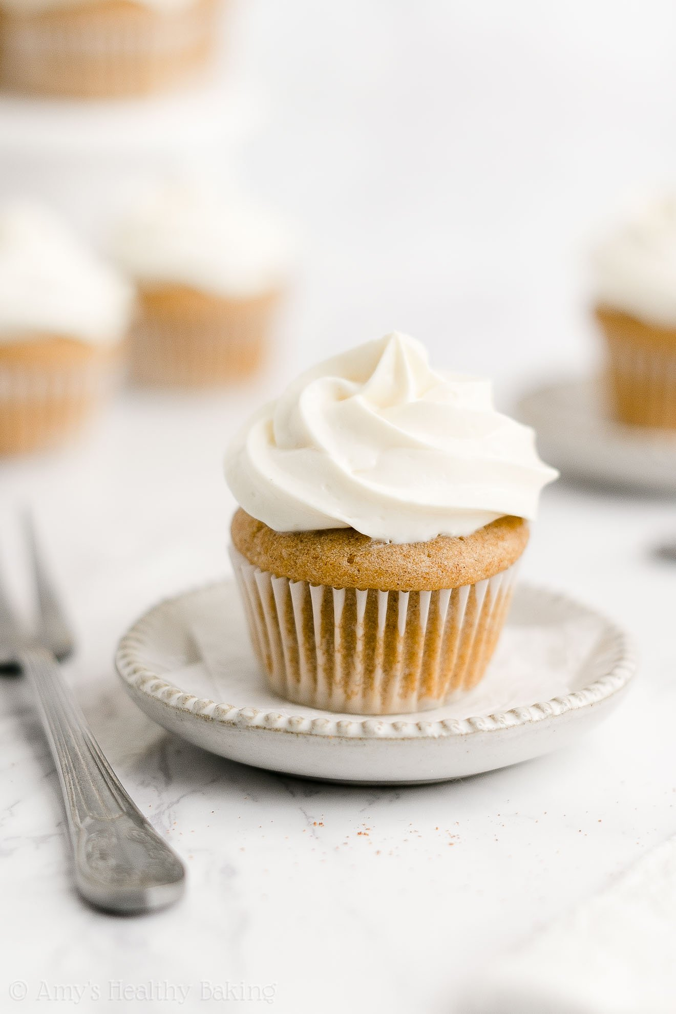 Easy Healthy Weight Watchers Gluten Free Mini Snickerdoodle Cupcakes