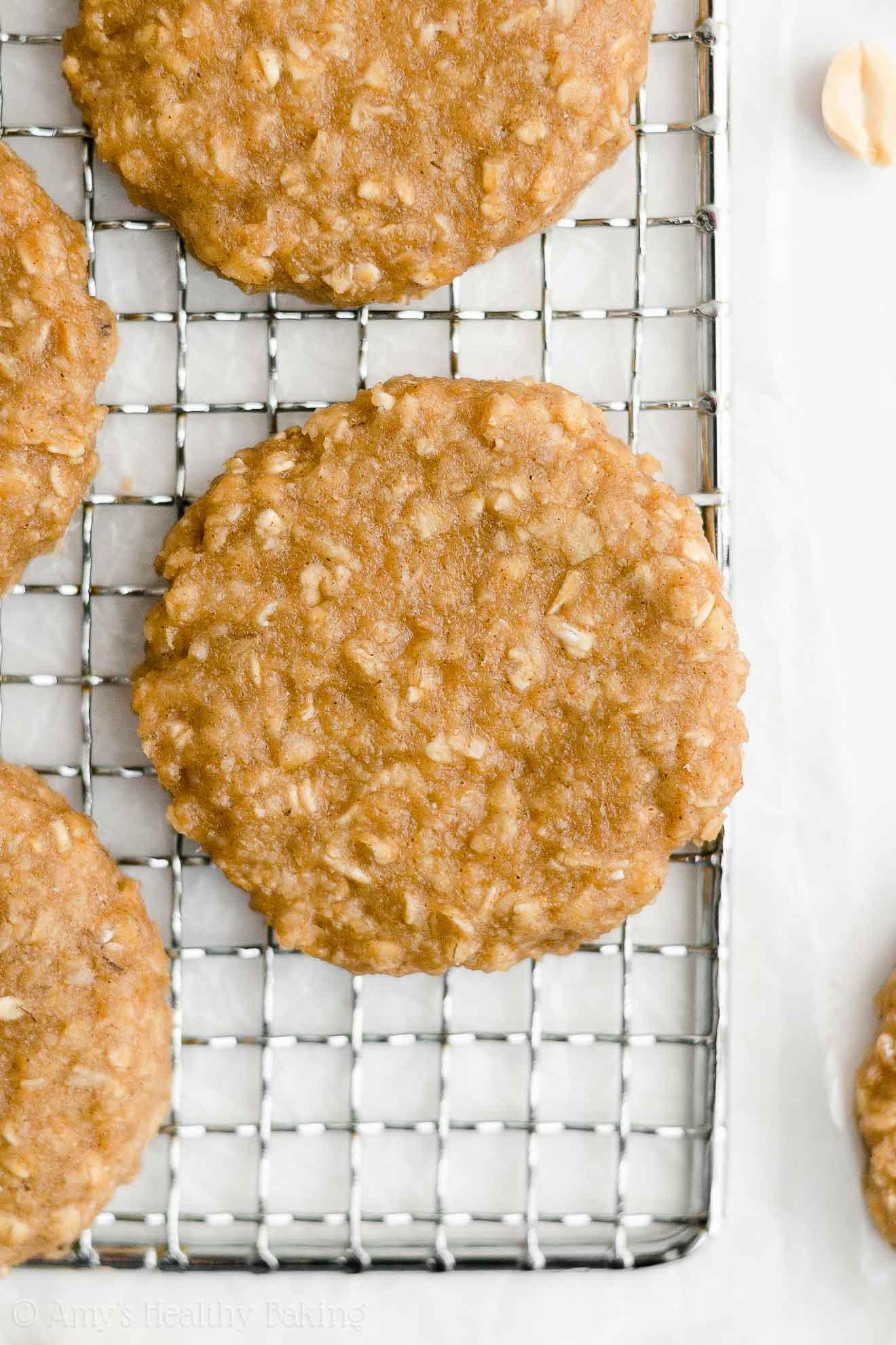 Best Easy Healthy Gluten Free Vegan Flourless Peanut Butter Breakfast Cookies