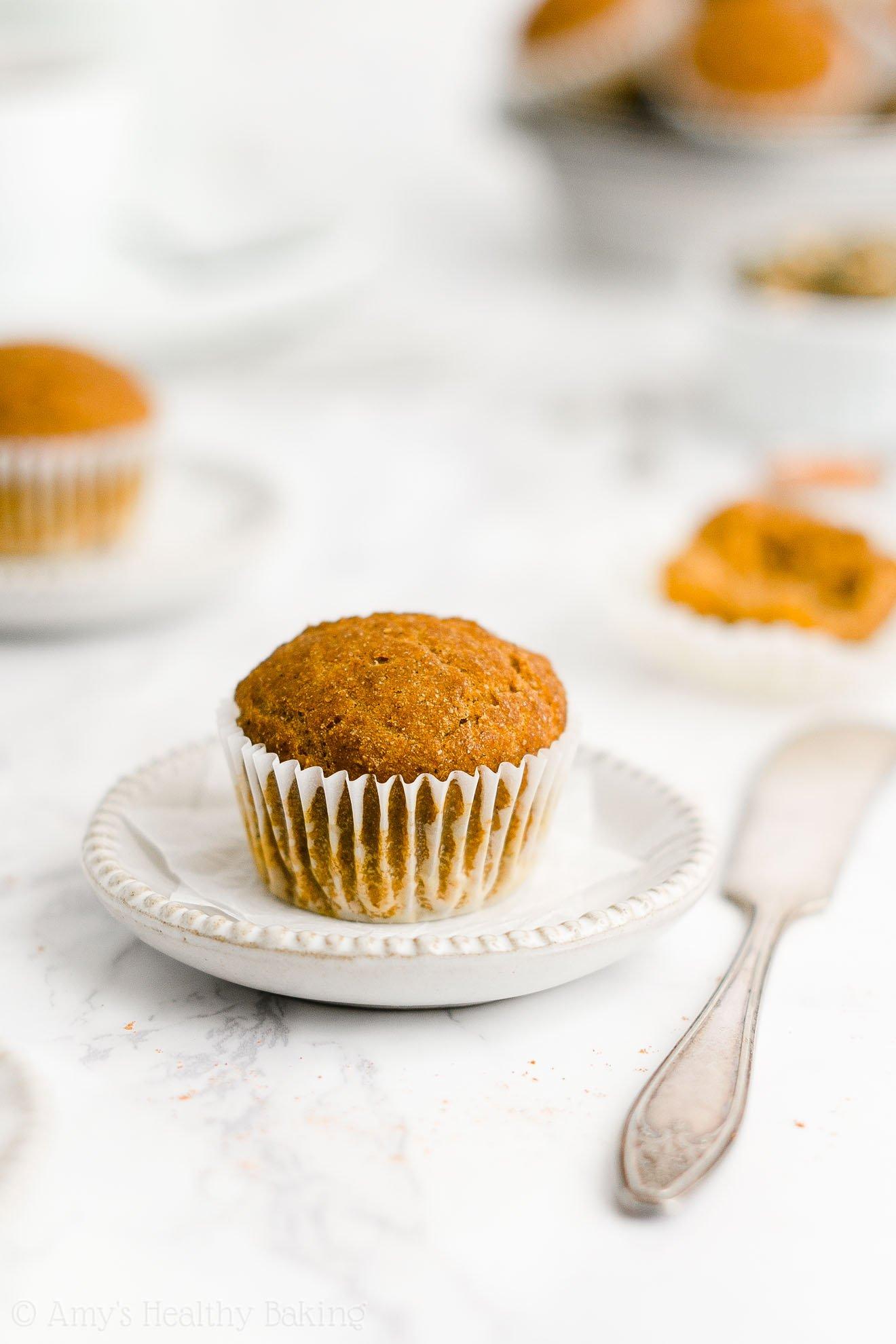 ULTIMATE Best Easy Healthy Low Fat Weight Watchers Pumpkin Muffins
