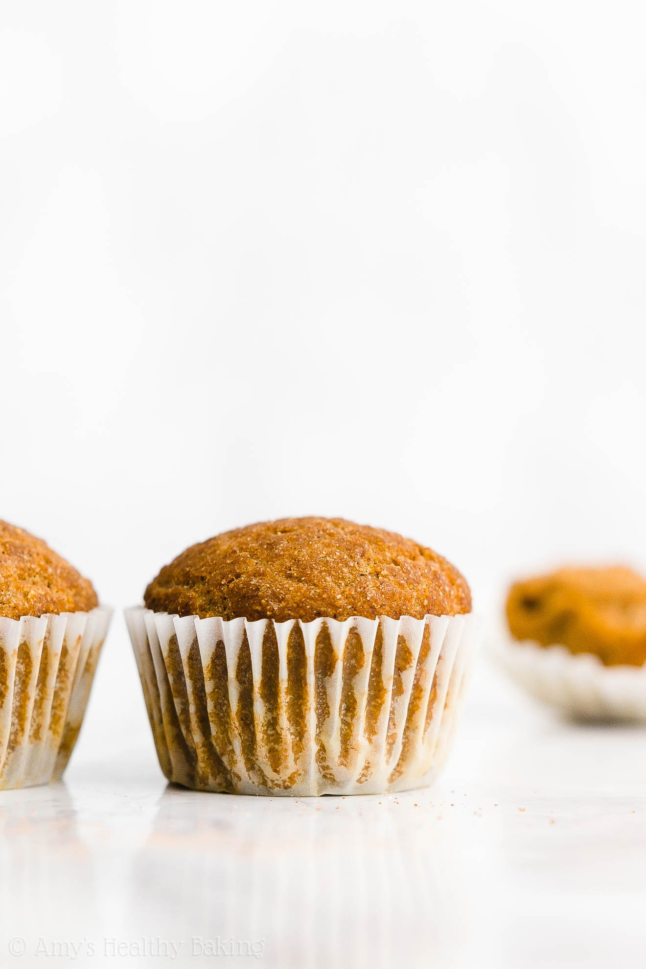 Best Easy Healthy Low Fat Clean Eating Sugar Free Vegan Pumpkin Muffins