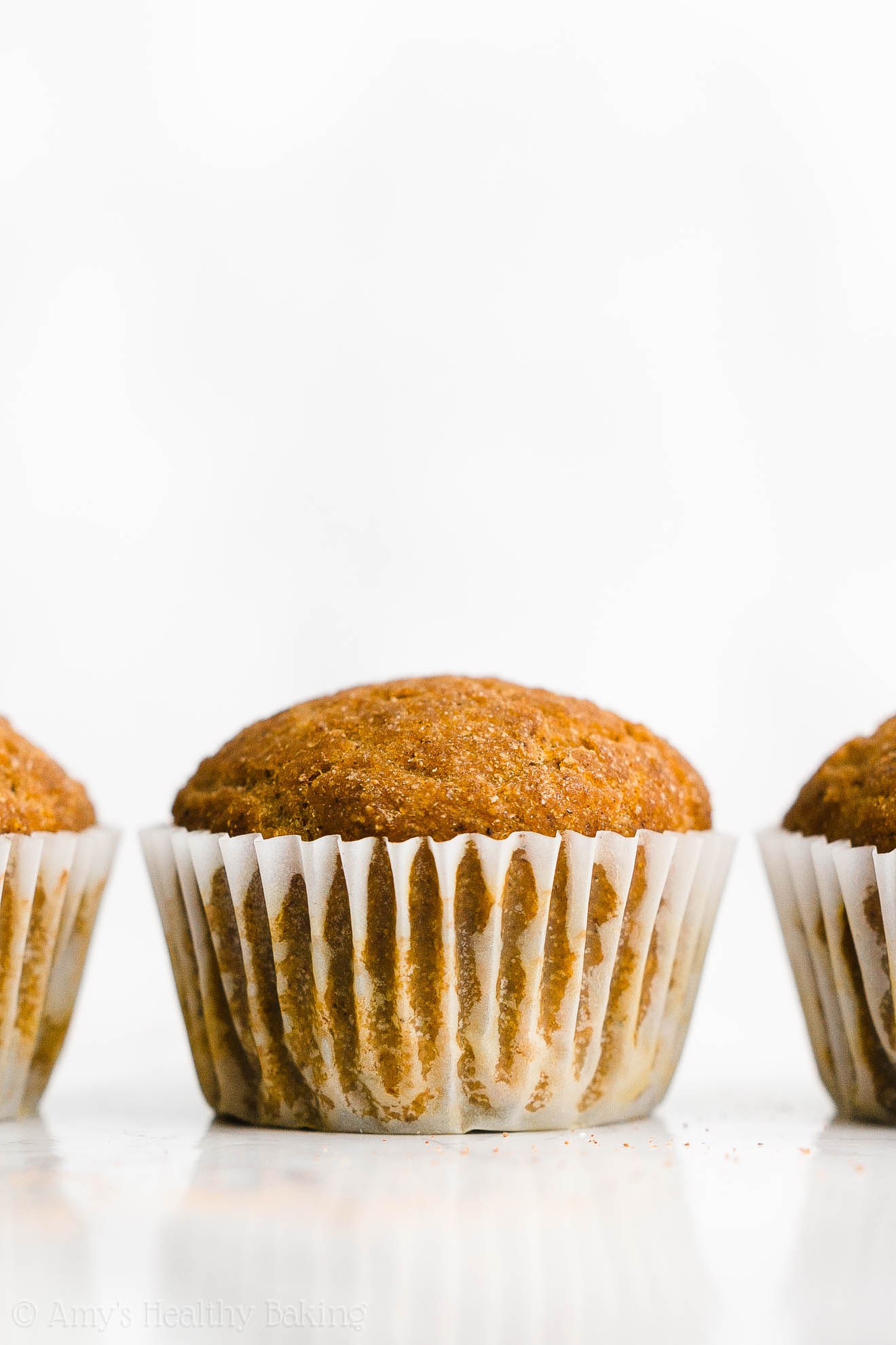 Best Easy Healthy Whole Wheat Low Fat Sugar Free Moist Pumpkin Muffins