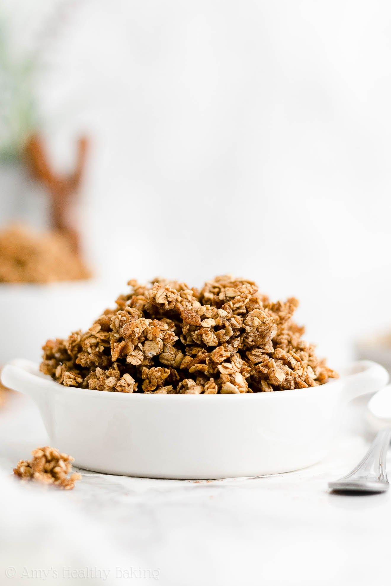 best healthy homemade granola recipe from scratch gluten free oil free