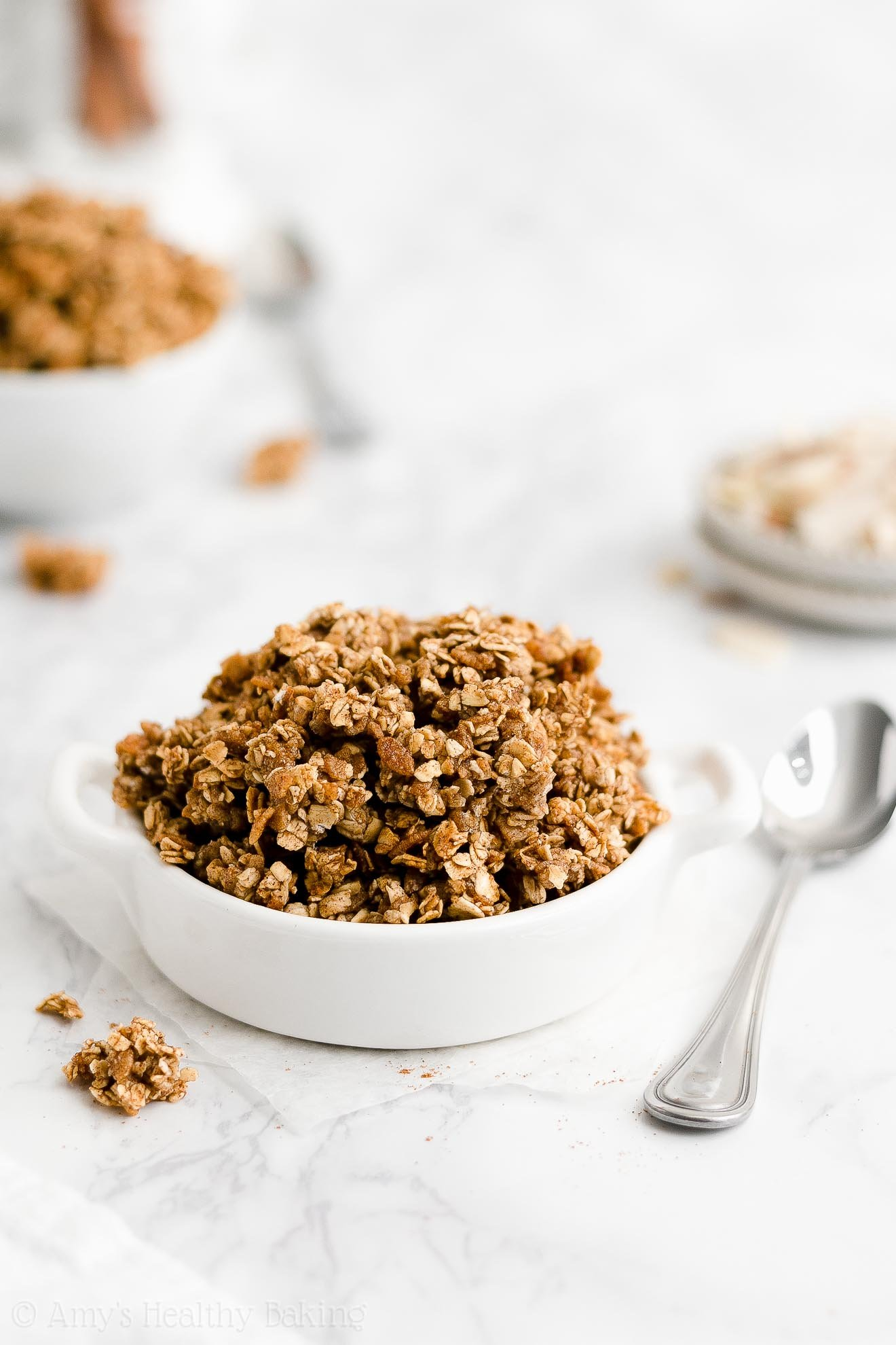 best easy healthy clean eating gluten free low calorie homemade granola